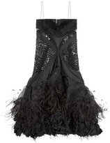 Nina Ricci Embroidered Lace Dress