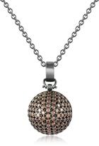 Forzieri Azhar Semi-Sphere Pendant Necklace