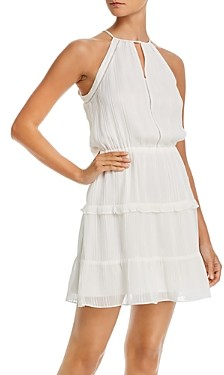 Parker Bruna Ruffled Mini Dress