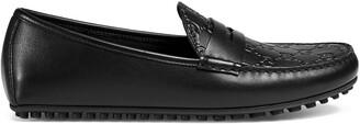 Gucci Signature driver shoes