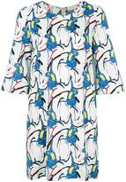 L'Autre Chose printed shift dress