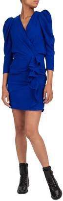 BA&SH Melinda V-Neck Mini Dress