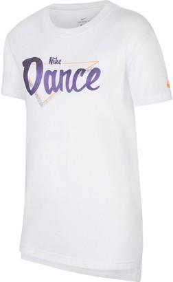 Nike Girls 7-16 Dance Graphic Tee