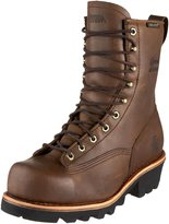 "Chippewa Men's 73103 8"" Lace-To-Toe Logger Waterproof Boot"