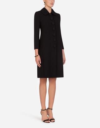 Dolce & Gabbana Single-Breasted Woolen Coat