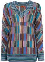 Missoni square print jumper