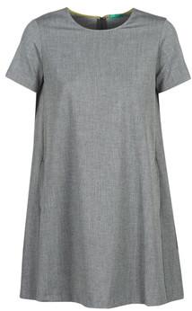 Benetton PAPOFOU women's Dress in Grey