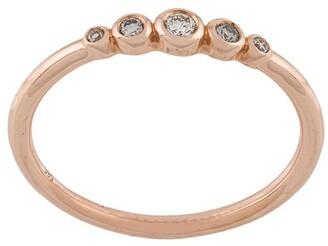 Astley Clarke 14kt rose gold Mini Icon Nova diamond ring