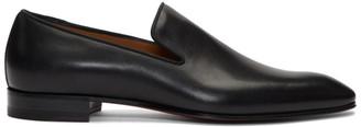 Christian Louboutin Black Dandelion Loafers