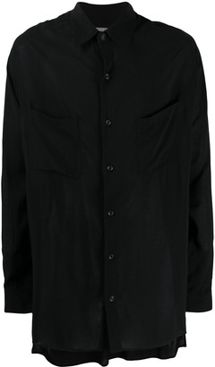 Yohji Yamamoto Relaxed Long-Sleeve Shirt