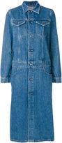 CK Calvin Klein long buttoned dress