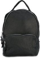 Giorgio Brato whipstitch detail backpack