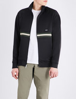 Stussy Striped zip-up shell jacket