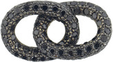Carolina Bucci Black Diamond 1885 Pave Links