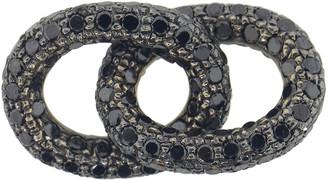 Carolina Bucci Black Diamond 1885 Pave Links
