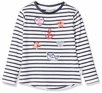 Salt&Pepper Salt & Pepper Girl's Maritime Applikationen Mit Stickerei Und Pailletten Long Sleeve Top