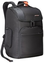 Briggs & Riley Men's 'Verb - Advance' Water & Wear Resistant Ballistic Nylon Backpack - Black