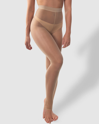 B Free Intimate Apparel Ladder Resistant Shaping Footless Tights