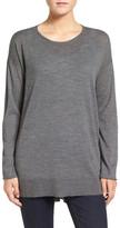 Eileen Fisher Featherweight Merino Wool Sweater