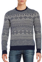 Original Penguin Wool-Rich Crewneck Sweater