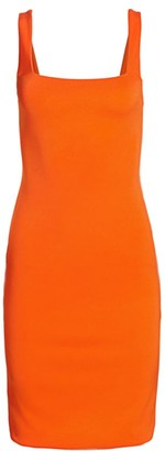 Alice + Olivia Addie Midi Sheath Dress