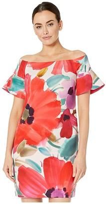 Trina Turk Modern Dress (Multi) Women's Clothing