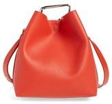 3.1 Phillip Lim 'Mini Quill' Leather Bucket Bag - Black