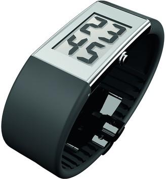 Rosendahl RS43104 Black Rubber Strap LCD Watch