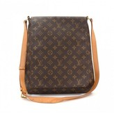 Louis Vuitton excellent (EX Brown Monogram Canvas Musette Large Shoulder Bag