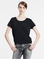 Calvin Klein Slit Back T-Shirt