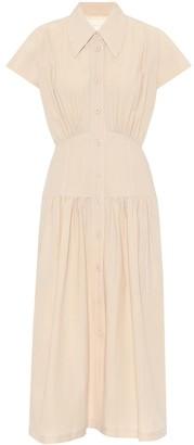 Low Classic Cotton-blend shirt dress
