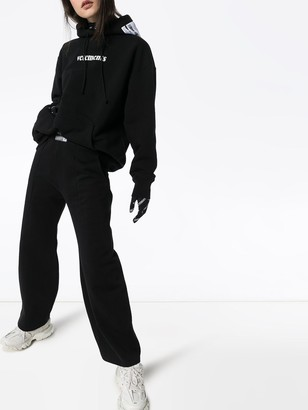 Vetements Dart Sweatpants Black