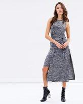 Mng Flecked Dress