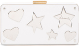 Lanvin Plexi Metal Clutch