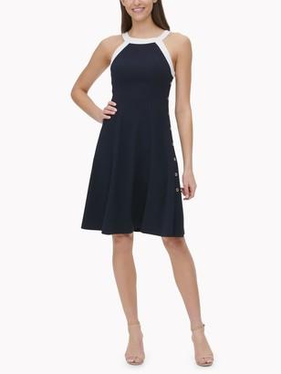 Tommy Hilfiger Essential Contrast Swing Dress