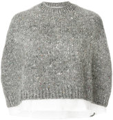 Comme des Garcons loose knitted pullover