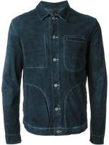 Giorgio Brato contrast stitching jacket