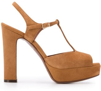 L'Autre Chose chunky sole sandals