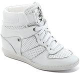 Nikko High-Top Wedge Sneakers