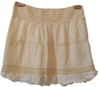 Etoile Isabel Marant Beige Cotton Skirt for Women