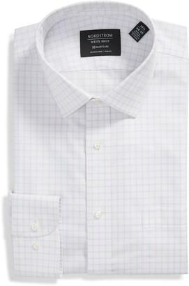 Nordstrom Windowpane Slim Fit Dress Shirt