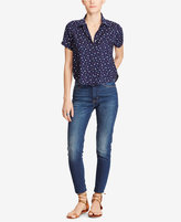 Denim & Supply Ralph Lauren Cropped Star-Print Shirt