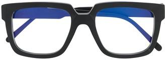 Kuboraum Two Tone Square Frame Glasses