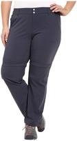 Columbia Plus Size Saturday Trail II Convertible Pant Women's Casual Pants