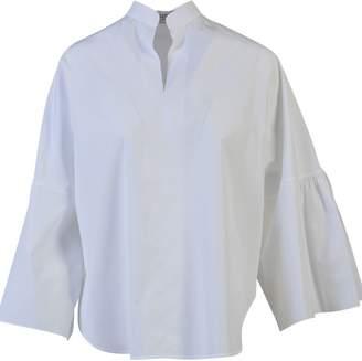 Valentino Bell-Sleeve Oversized Blouse