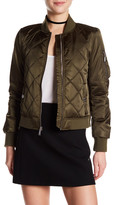 BCBGeneration Quilted Bomber Jacket