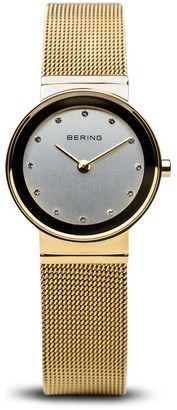 Bering Womens Analogue Quartz Watch with Stainless Steel Strap 10126-334