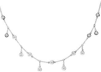 Diamond Select Cuts Diana M. Fine Jewelry 14K 0.34 Ct. Tw. Diamond By The Yard Necklace
