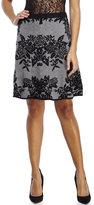 Spense Knit Jacquard Skirt