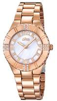 Lotus Womens Quartz Watch, Analogue Classic Display and Stainless Steel Strap 15908/1